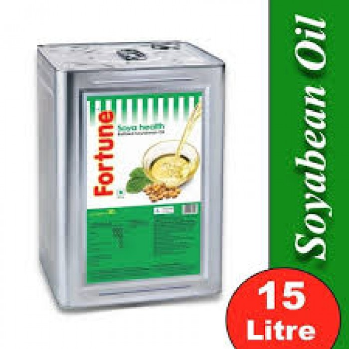 Fortune Refined Soyabean Oil 15 Liter (Tin)