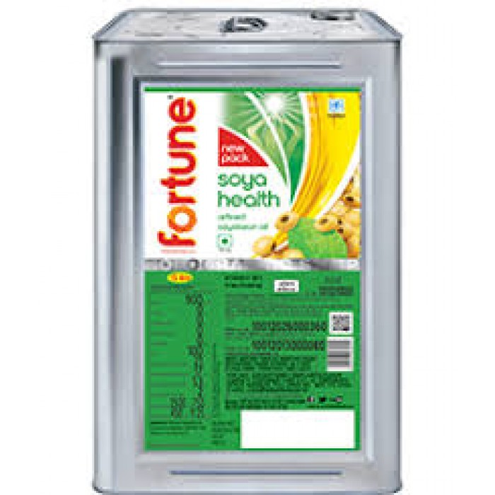 Fortune Refined Soyabean Oil 15 kg (Tin)