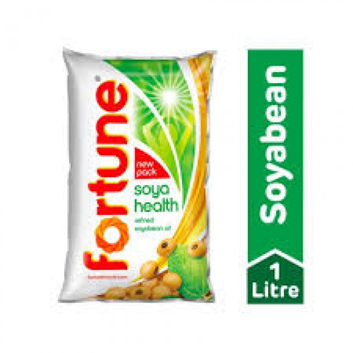 Fortune Refined Soyabean Oil 1 Liter (Pouch)