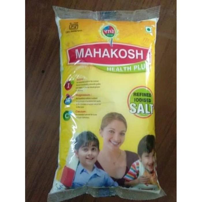 Mahakosh Iodine Refined Salt