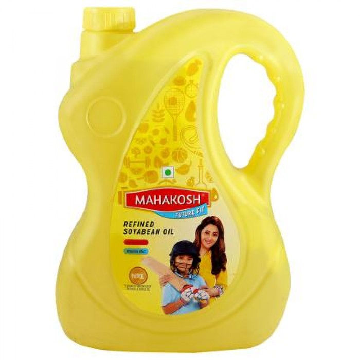 Mahakosh Future Fit Refined Soyabean Oil 5 L (Can)