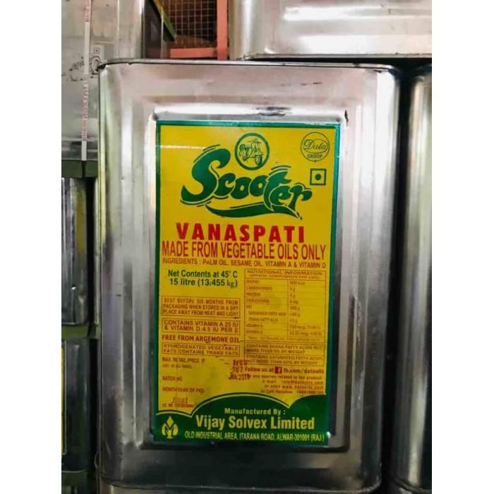 Scooter Vanaspati Ghee 15 Liter (Tin)