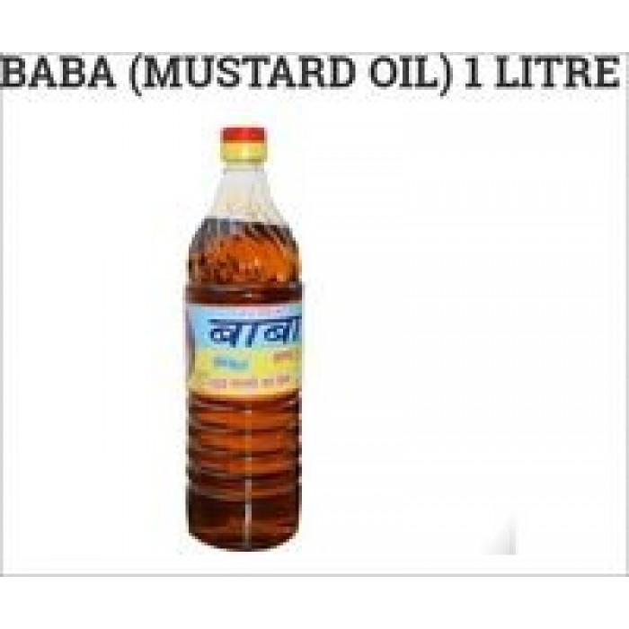 Baba Mustard/Sarson Oil 1Liter (Bottle)