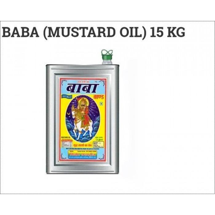 Baba Mustard/Sarson Oil 15 kg Tin