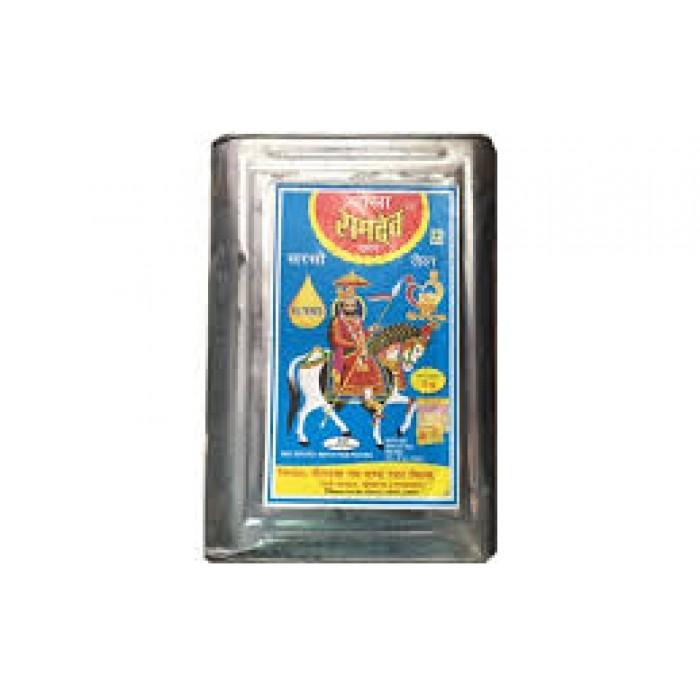 Baba Ramdev Mustard/Sarson Oil 15 kg (Tin)